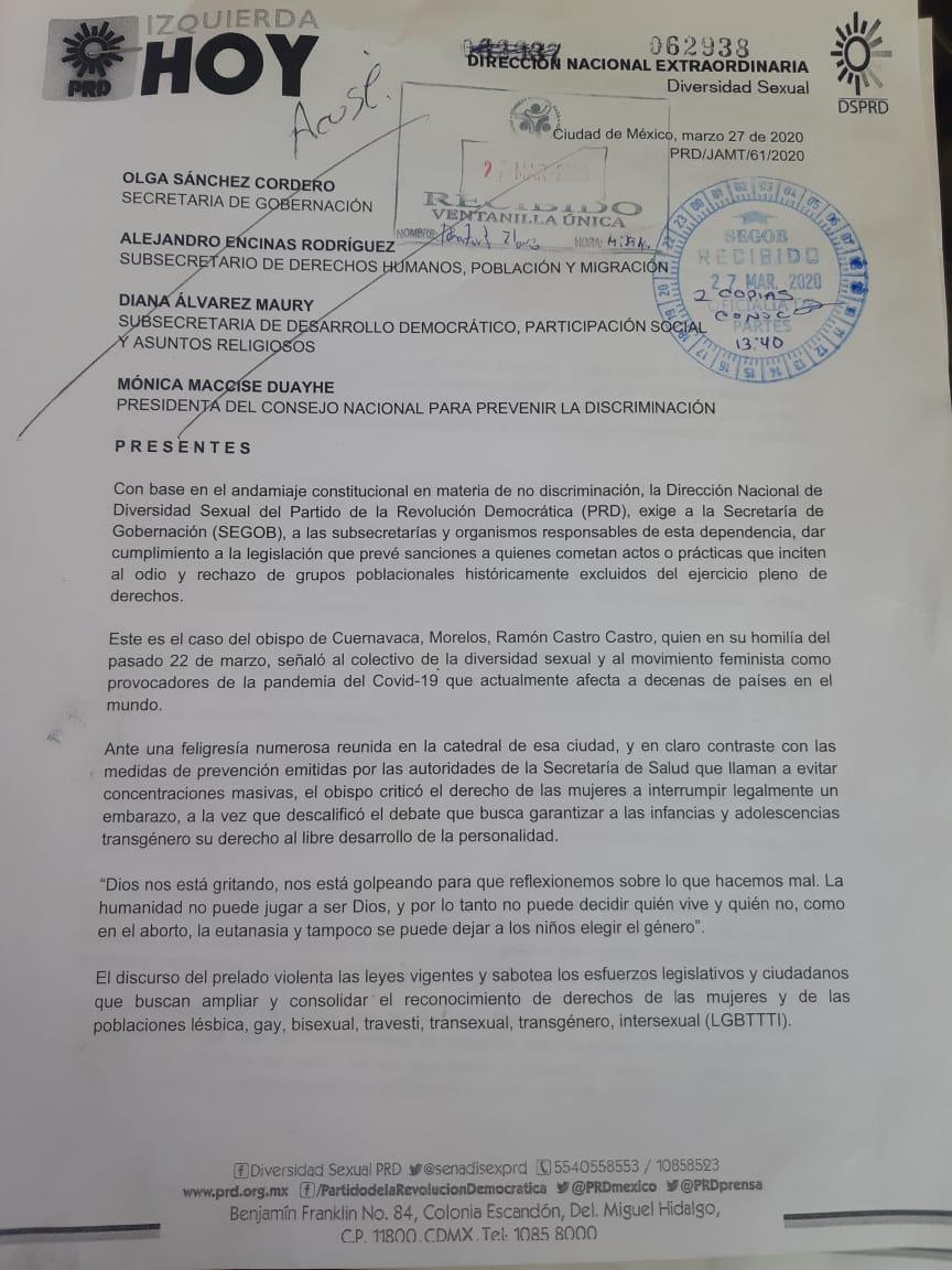 conapred-activistas-lgbt-responden-obispo-cuernavaca-ramón-castro-denuncia-1