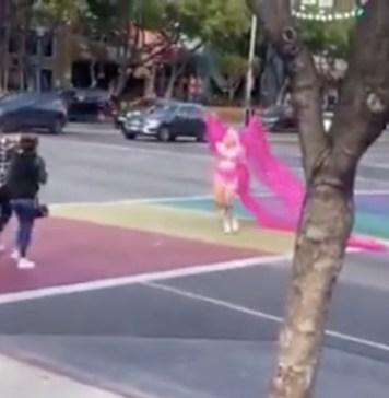 drag queen tráfico