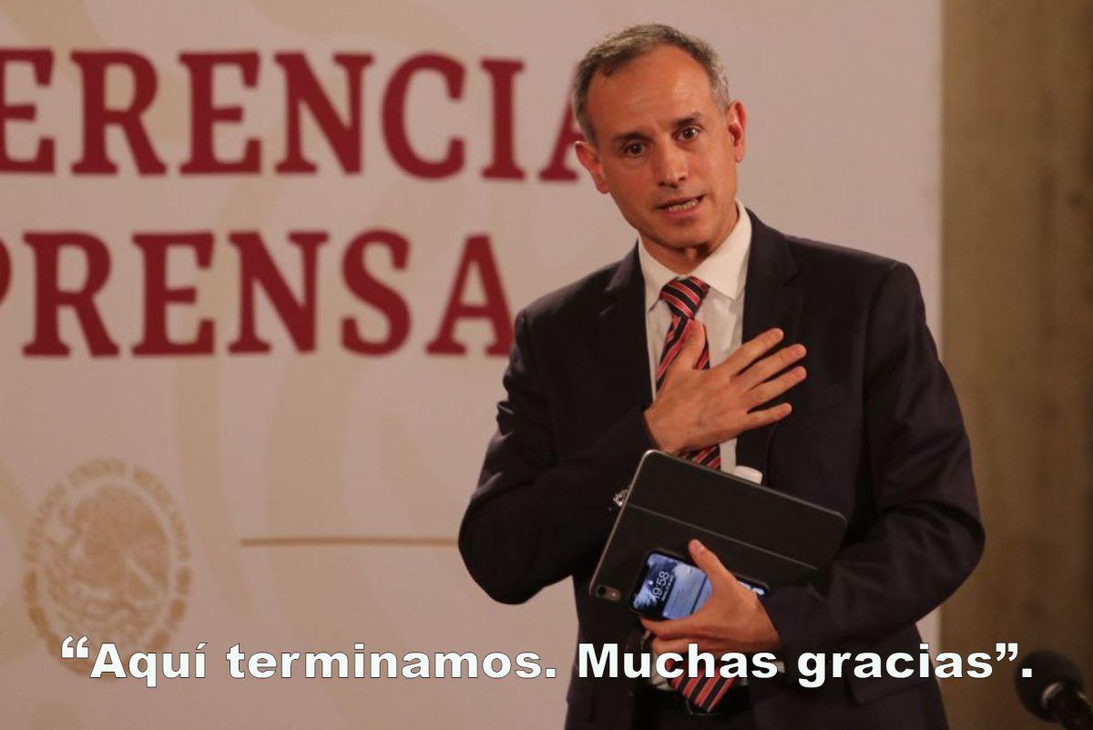 López Gatell preguntas gays