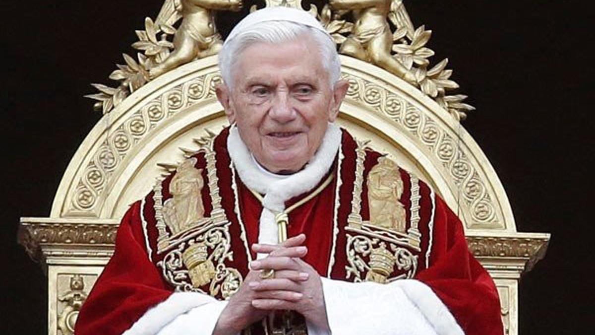 Papa Benedicto matrimonio gay