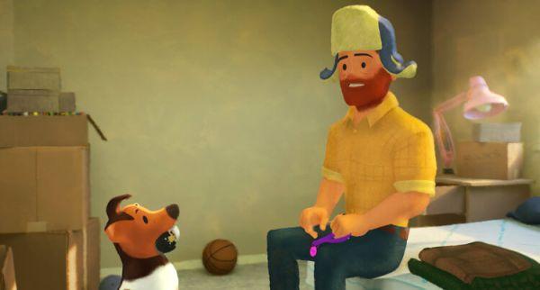out cortometraje gay pixar studios