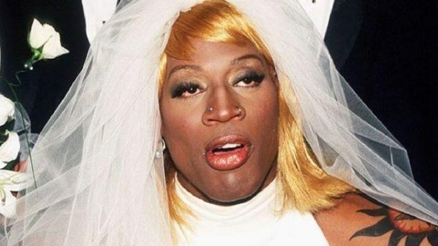 Dennis Rodman Looks Queer
