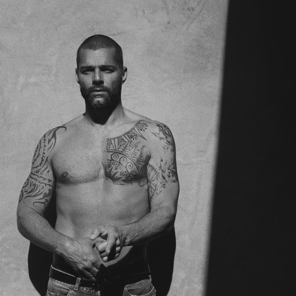 Fotos de Ricky Martin por Jwan Yosef