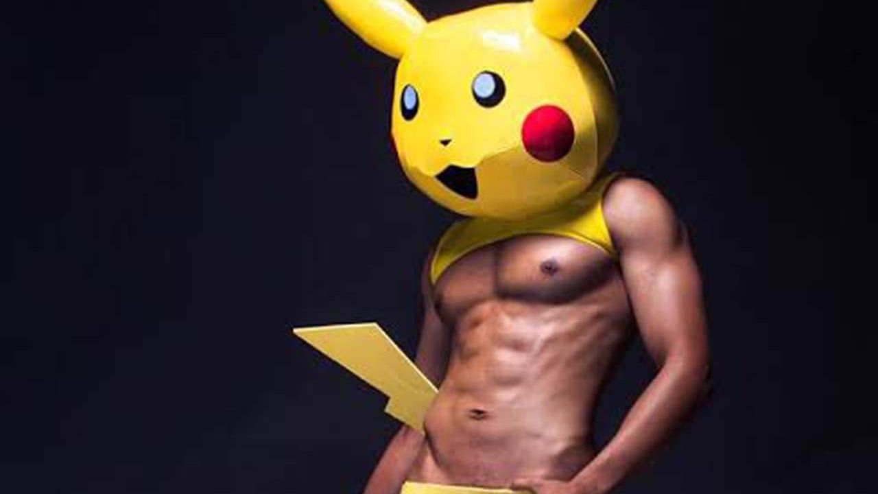 Pikachu, un ídolo de nuestra infancia, reinterpretado con fotos sexis.