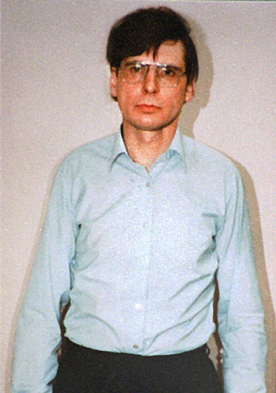 Fotografía del asesino Dennis Nilsen