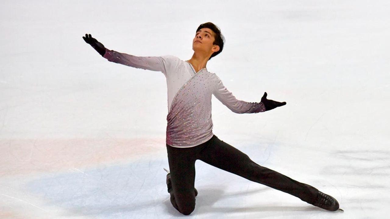 Donovan Carrillo patinador artístico mexicano