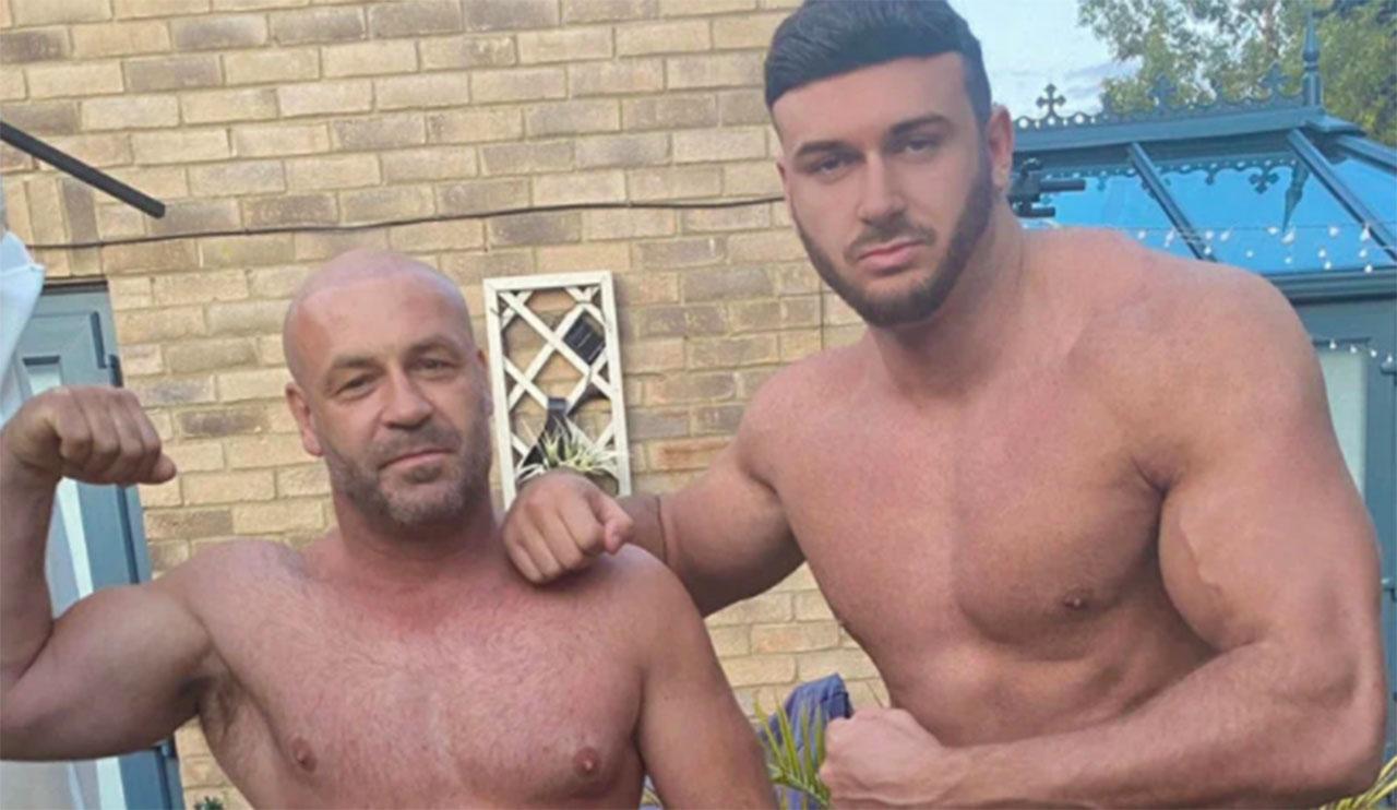 Padre e hijo comparten una cuenta de OnlyFans y suben contenido juntos.