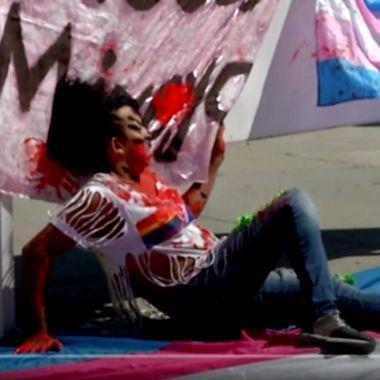 Protestas por el transfeminicidio de Mireya Rodríguez