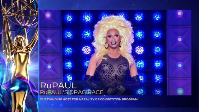 RuPaul da discurso en los Emmys