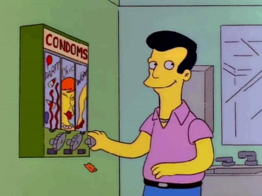Los Simpson condones
