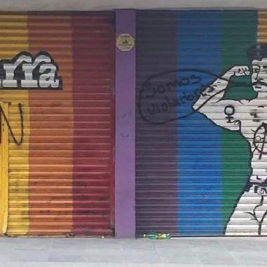 Marra mensaje LGBTfóbico CDMX