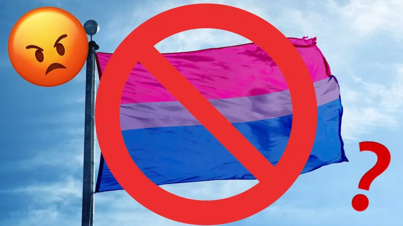 emoji bandera bisexual
