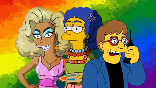 guest stars LGBT Los Simpson