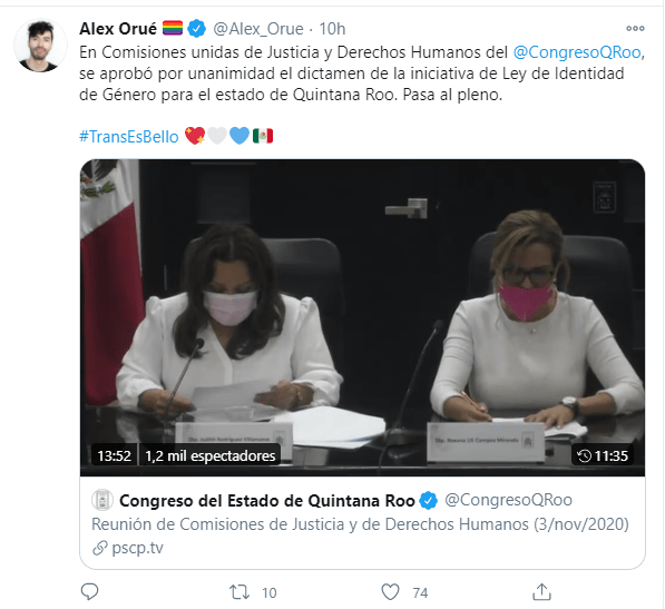 Identidad género Quintana Roo