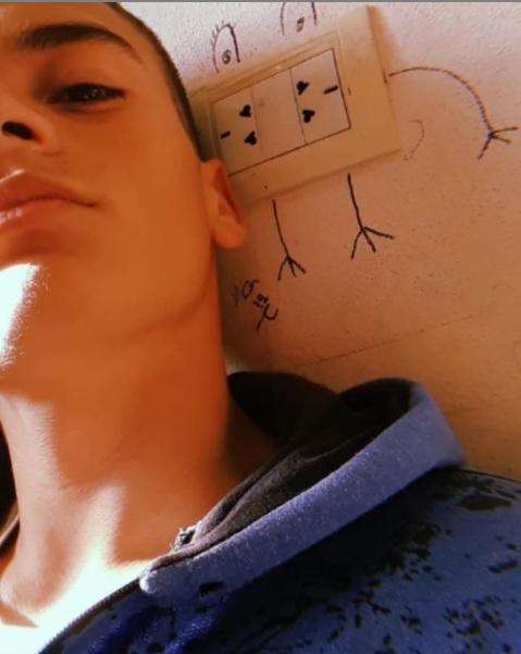 Luis Villafañe estudiante de secundaria