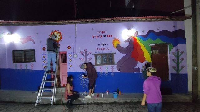 mural colectiva chuvajetik
