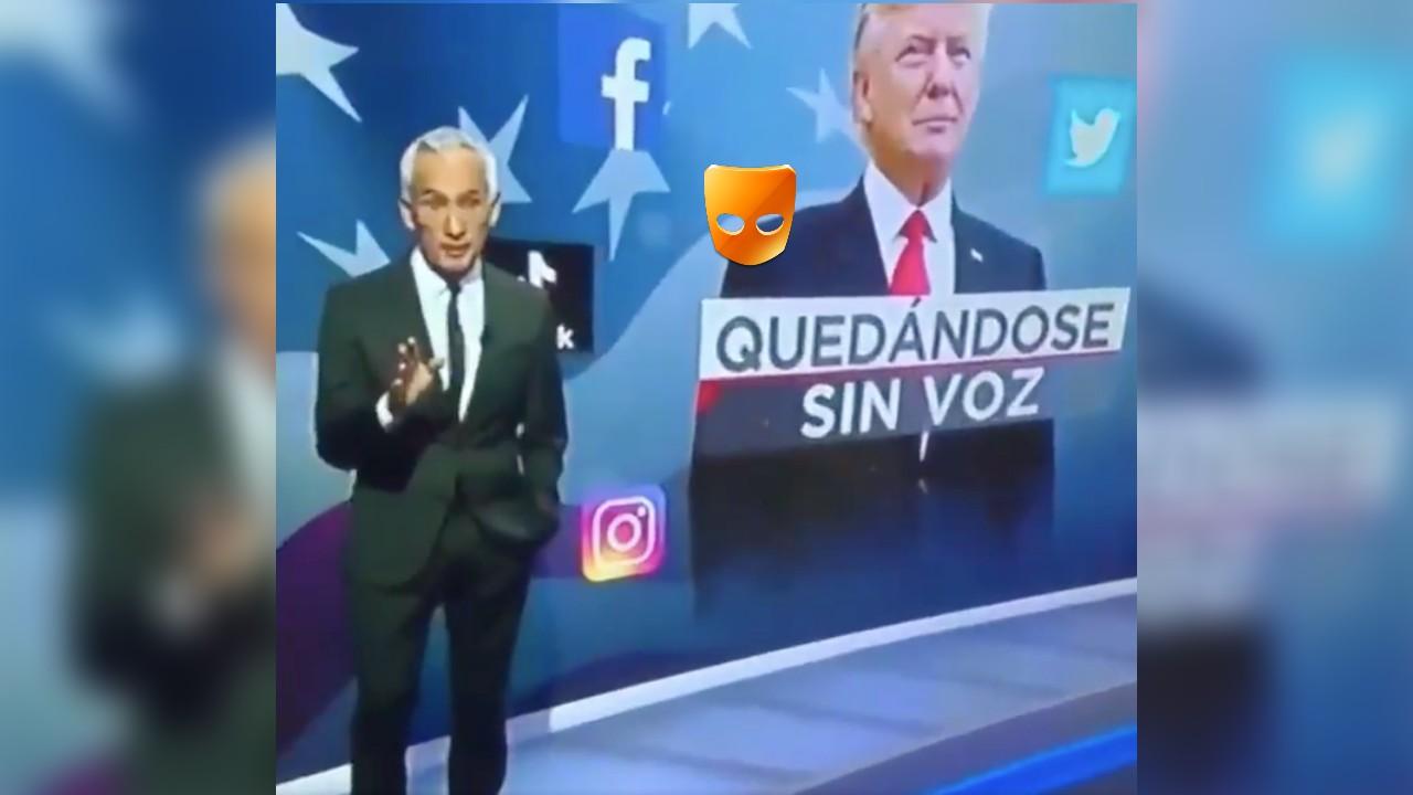 Jorge Ramos donald trump grindr tv