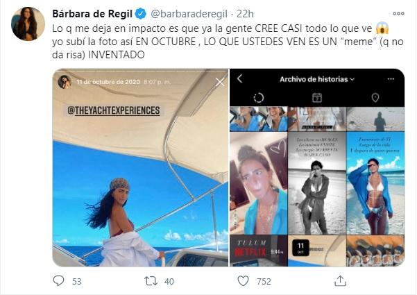 Respuesta de Bárbara de Regil sobre memes homofóbicos