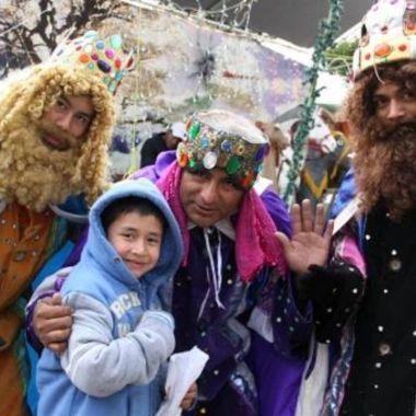 Activistas LGBT+ se transforman en Reyes Magos