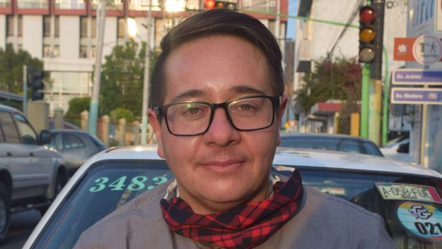 Ricardo Samir Espinoza del Villar primer taxista trans Hidalgo