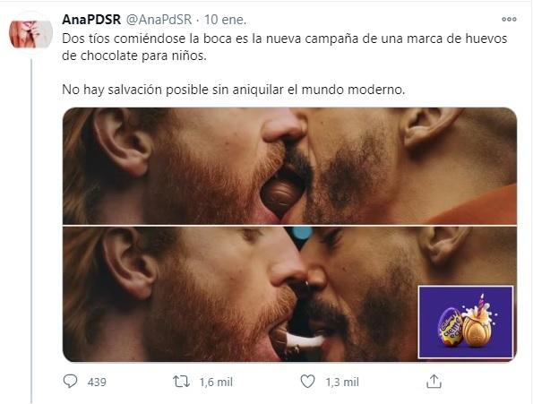 Anuncio gay de cadbury reacciones