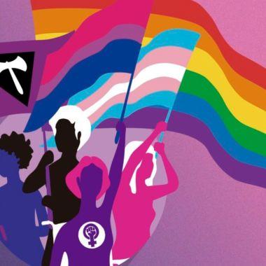Colectiva de mujeres lesbianas. bisexuales y trans