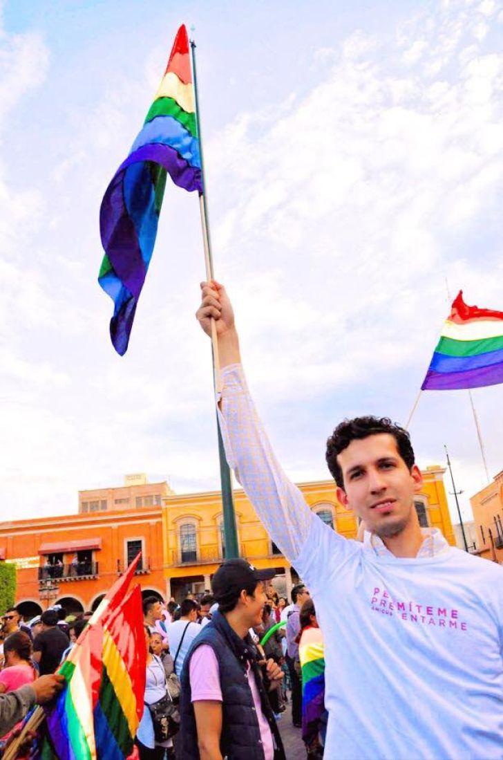 Juan Pablo Delgado candidato LGBT+ elecciones México