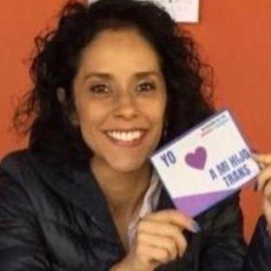 Tania Morales activista derecho infancias trans