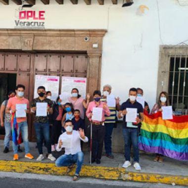 activistas lgbt veracruz elecciones 2021 tev