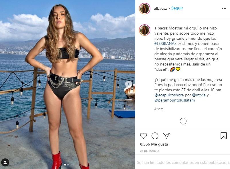 Alba Zepeda estrena el despacho de Acapulco Shore con Karime
