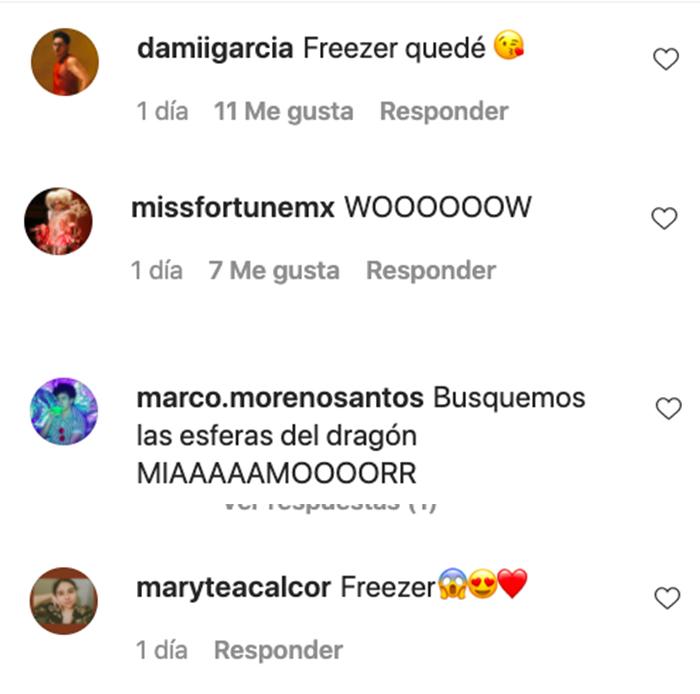 instagram letal freezer dragon ball
