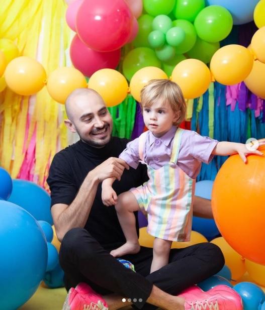 Salvador Loyo papá gay soltero