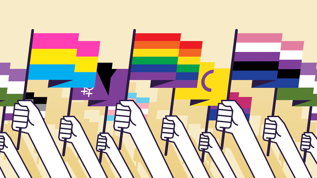 test banderas lgbt