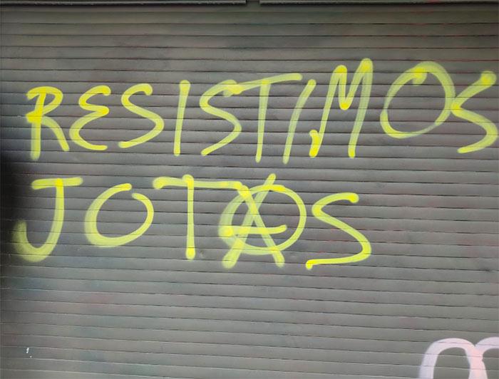 marcha orgullo grafiti