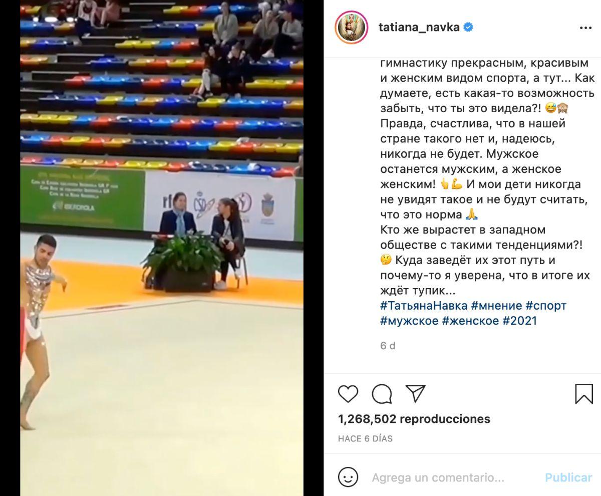 gimnasta español tatiana navka