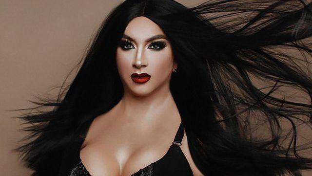 Mario Aguilar drag queen