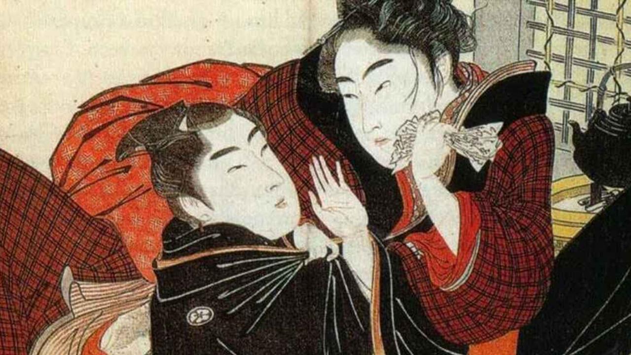 shudo homosexualidad samuráis Japón antiguo