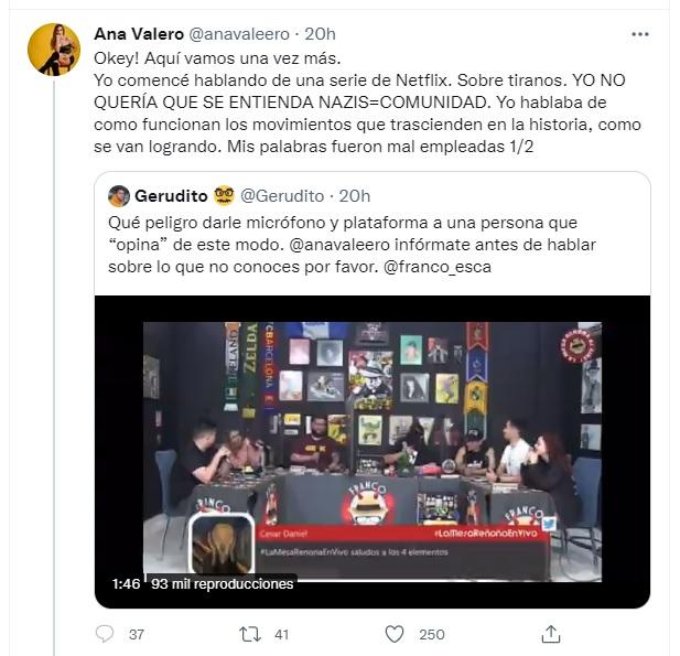 Ana Valeo responde a críticas sobe homofobia