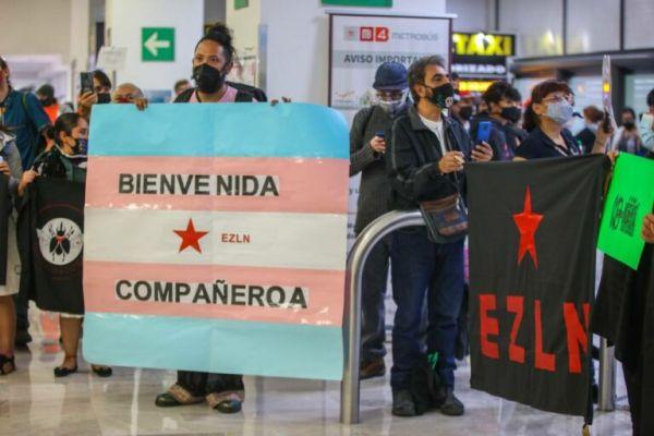 Integrante trans del EZLN
