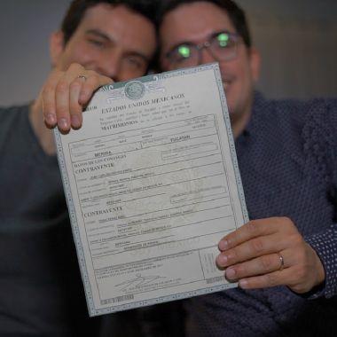 Pasos para tramitar amparo de parejas LGBT+