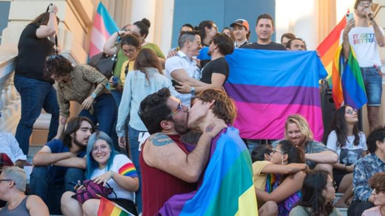 besatón lgbt resistencia protesta mérida