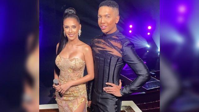Vestido del presentador de Miss Universo Puerto Rico Bryan Villarini