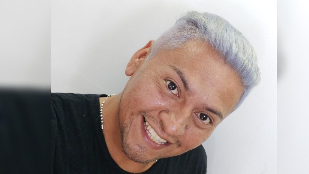 Hugo Badillo activista LGBT+ y enfermero de Veracruz
