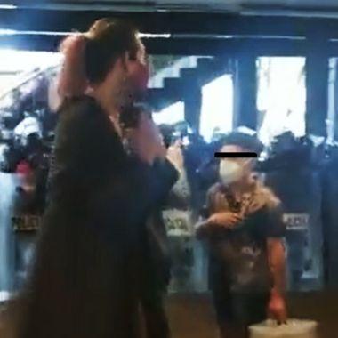 Ataque a comerciantes de La Tianguis Disidente