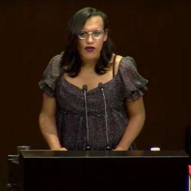 María Clemente García Moreno revela que vive con VIH y apoya a organizaciones de la sociedad civil