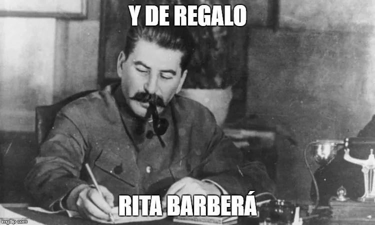Pablo Iglesias no ha matado a Rita, pero sí ha creado el odio popular que le ha comido el corazón. Los 200.000.000.001 muertos del comunismo se dicen de muchas maneras.