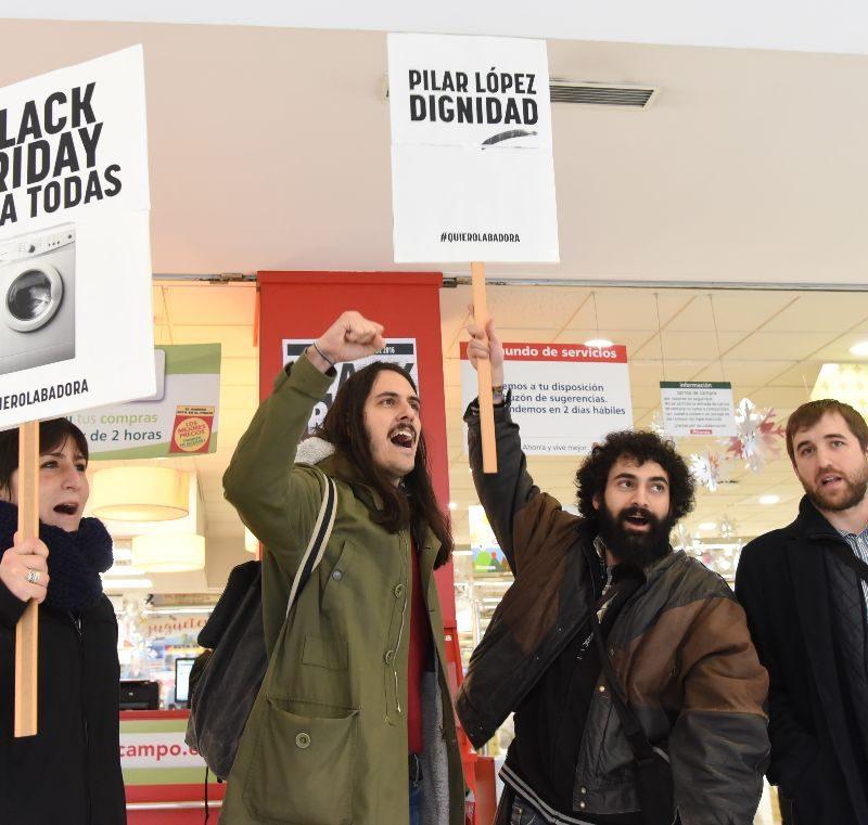 Black Friday: Piden a Alcampo una lavadora para una anciana desfavorecida
