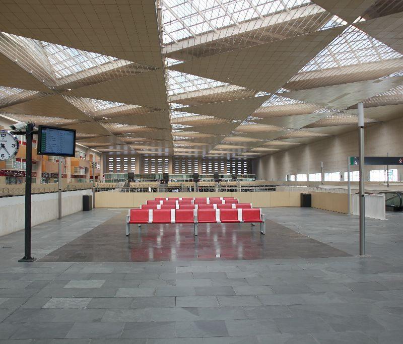Visita a la estación Zaragoza-Delicias