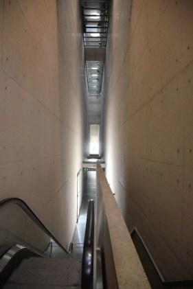 Escalas imposibles. En el interior del Templo Máximo la experiencia mística hace que las nociones de vertical y horizontal se desvanezcan.