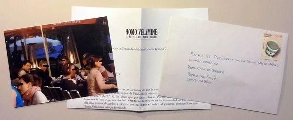 Carta a Ignacio González